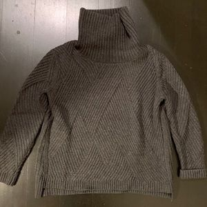 Rag & Bone Wool Textured Knit Turtleneck Sweater